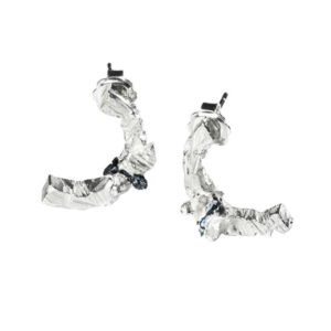 Zydrune Anomaly jewellery, 'Flurry' earrings without chains.