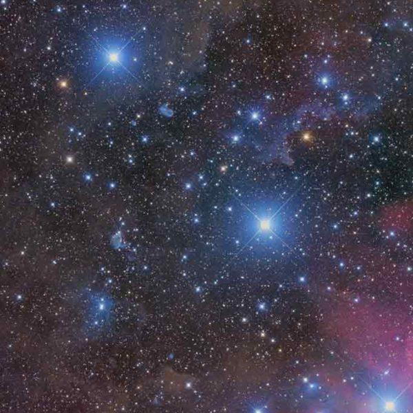 Celestial skies, inspiration for Zydrune 'Mintaka' ring.