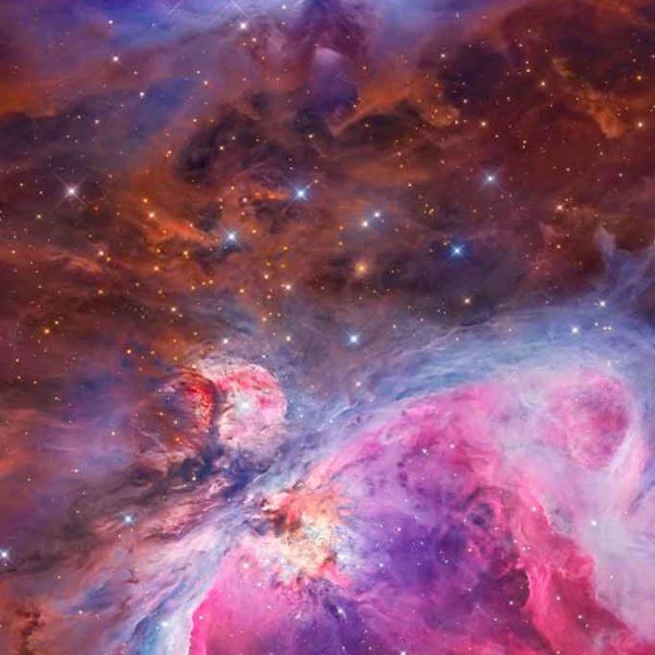 Celestial skies, inspiration for Zydrune 'Orion Nebula' ring.
