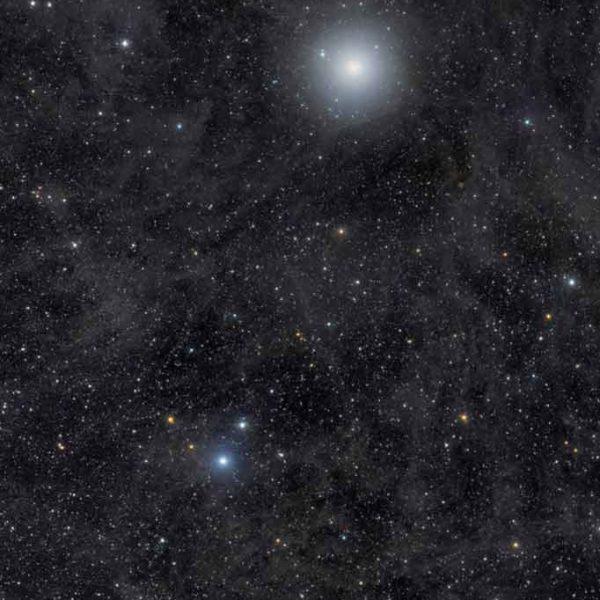 Celestial skies, inspiration for Zydrune 'Polaris' Silver Diamond ring.