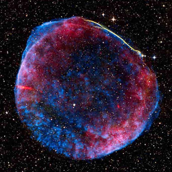 Celestial skies, inspiration for Zydrune 'Supernova 1006' pink ring.