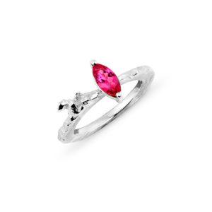 Zydrune Celestial 'Supernova 1006' pink ring.