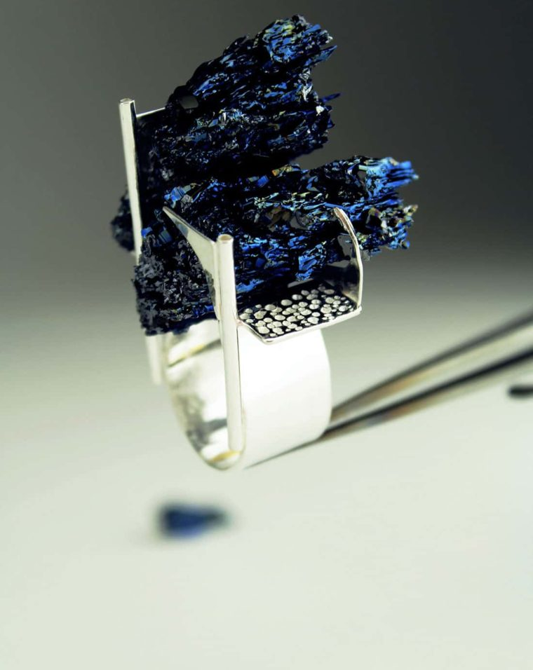 Zydrune's signature contemporary jewelry design. NY ring.