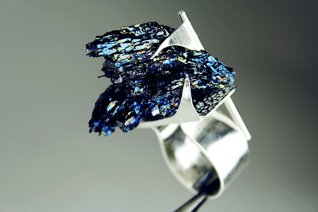 Zydrune bespoke jewellery. Handmade NYC ring.