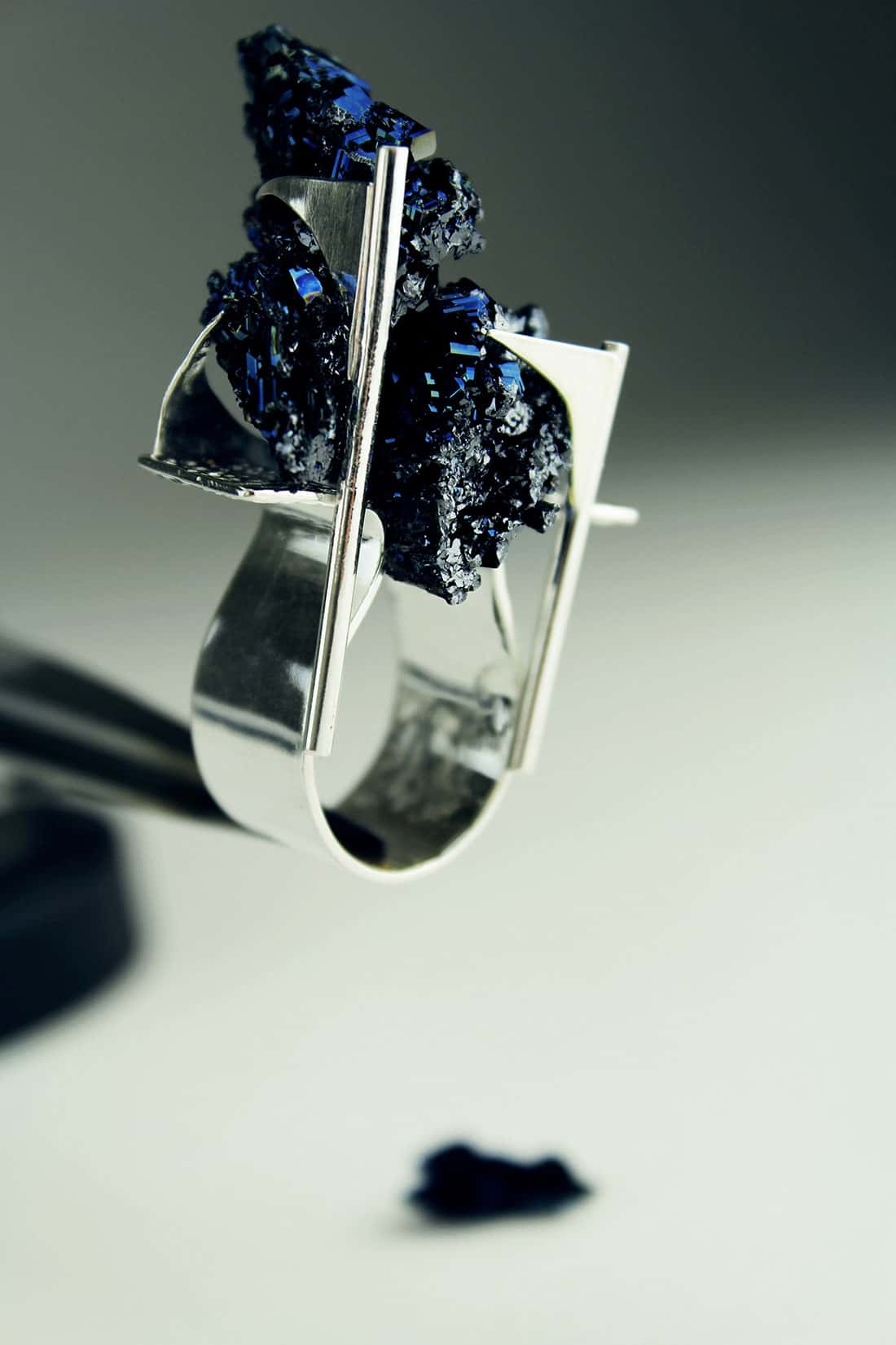 Zydrune's signature design of exclusively one-off NYC ring.